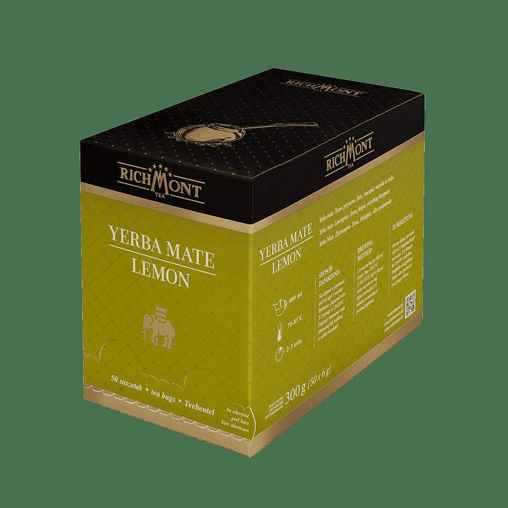 Ziołowa Herbata Richmont Yerba Mate Lemon 50 Saszetek