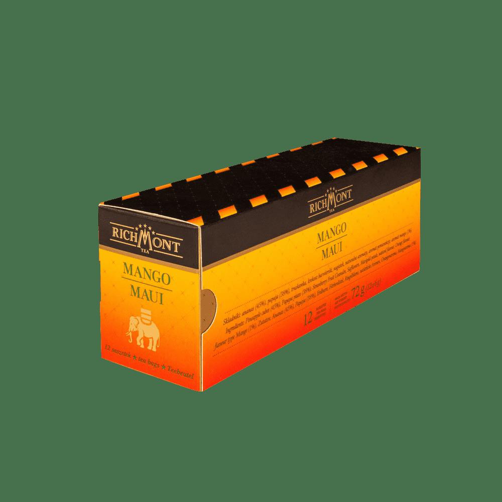 Owocowa Herbata Richmont Mango Maui 12 Saszetek