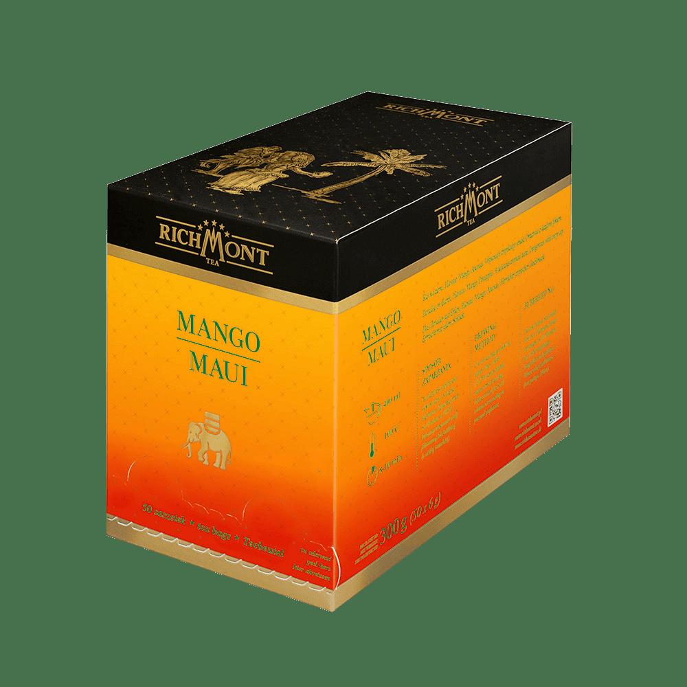 Owocowa Herbata Richmont Mango Maui 50 Saszetek