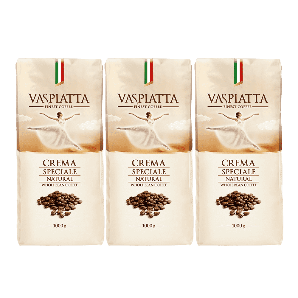 Zestaw Kawa Ziarnista Vaspiatta Crema Speciale 3x1 kg