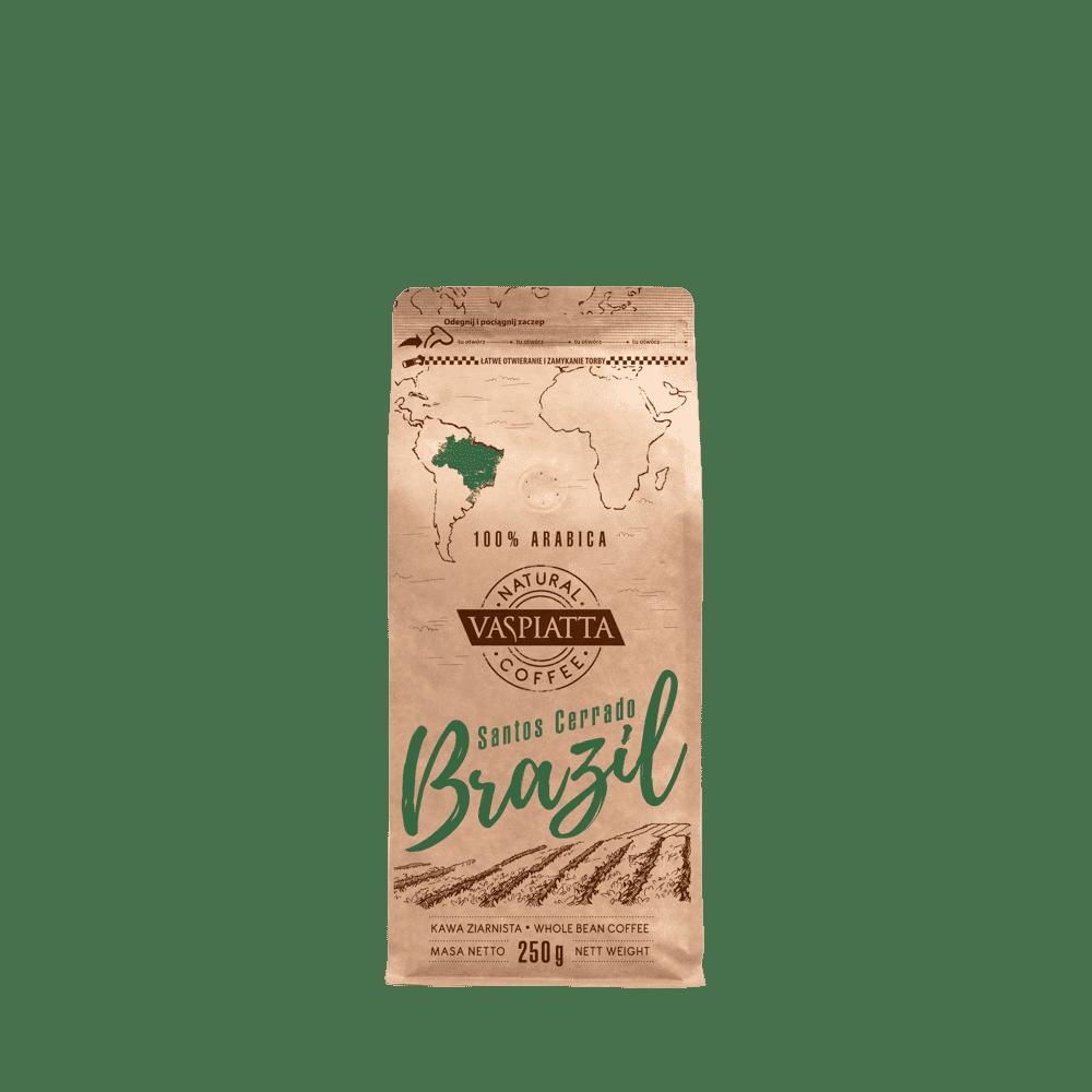 Kawa Ziarnista Vaspiatta Natural Brazil 250g