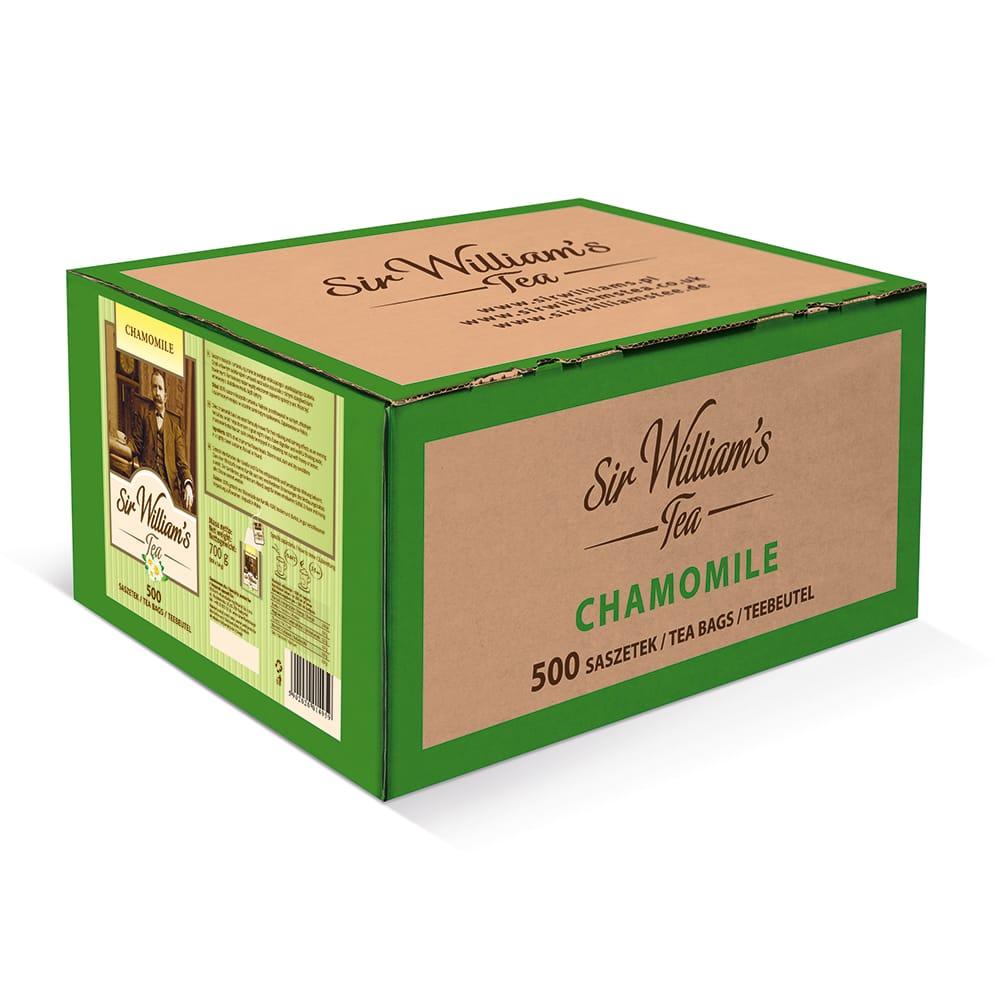 Ziołowa Herbata Sir William's Tea Chamomile 500 Sasztek