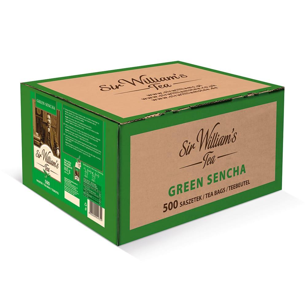Zielona Herbata Sir William's Tea Green Sencha 500 Saszetek