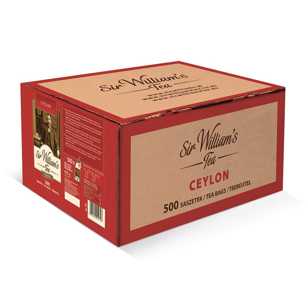Czarna Herbata Sir William's Tea Ceylon 500 Saszetek