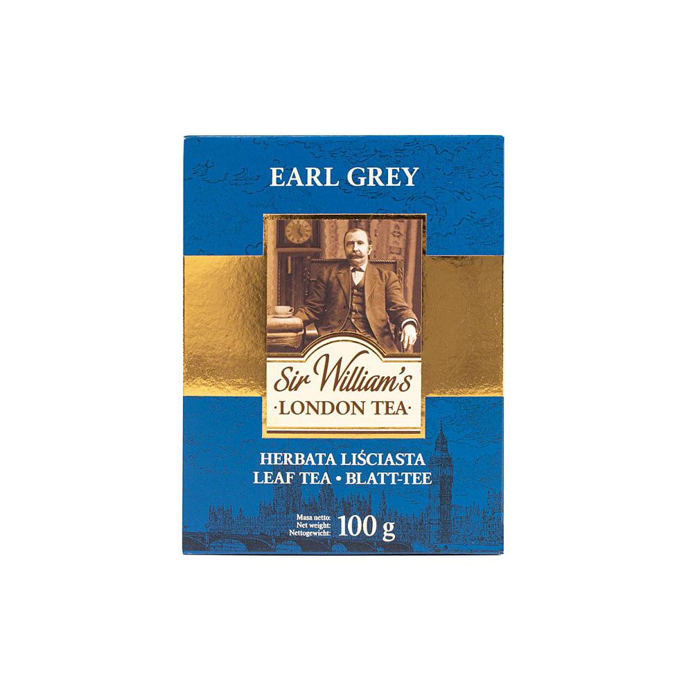 Liściasta Herbata Sir William's London Earl Grey 100g
