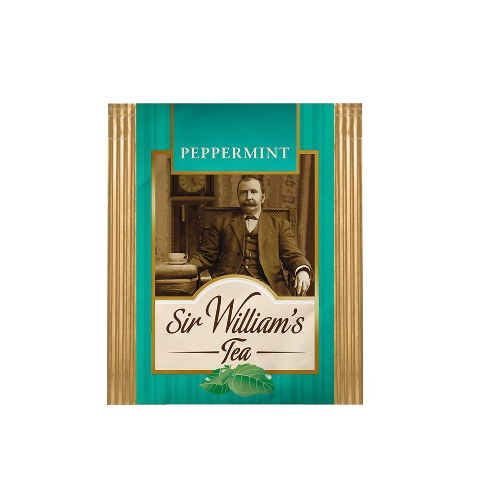 Zielona Herbata Sir William's Tea Peppermint 50 Saszetek