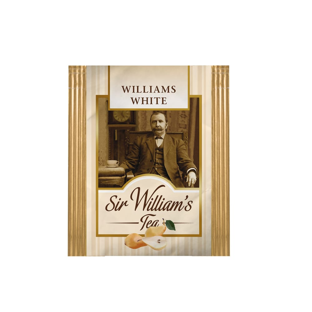 Biała Herbata Sir William's Tea White 50 Saszetek