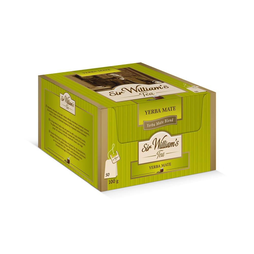 Ziołowa Herbata Sir William's Tea Yerba Mate 50 Saszetek