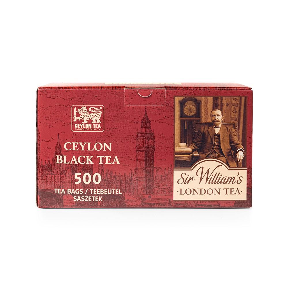 Czarna Herbata Sir William's London Ceylon Black Tea 500 Saszetek