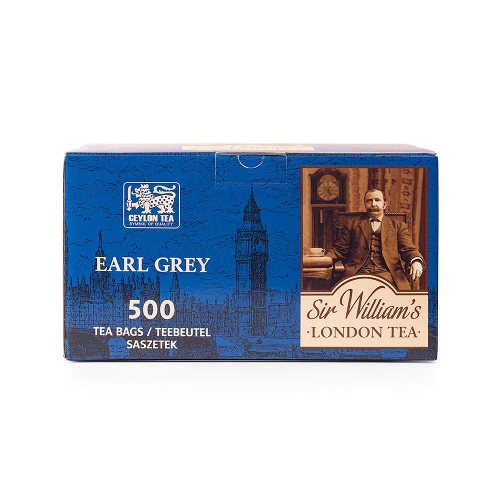 Czarna Herbata Sir William's London Earl Grey 500 Saszetek