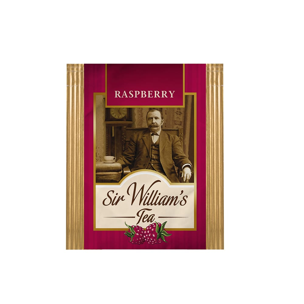 Owocowa Herbata Sir William's Tea Raspberry 50 Saszetek