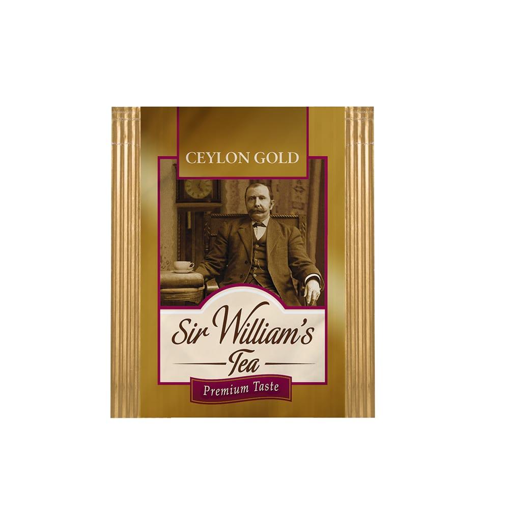 Czarna Herbata Sir William's Tea Ceylon Gold 500 Saszetek