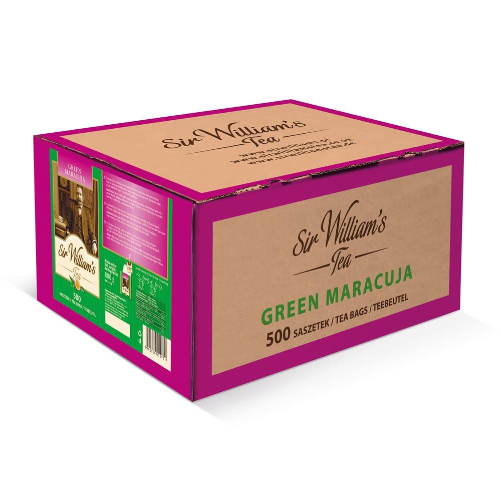Zielona Herbata Sir William's Tea Green Maracuja 500 Saszetek