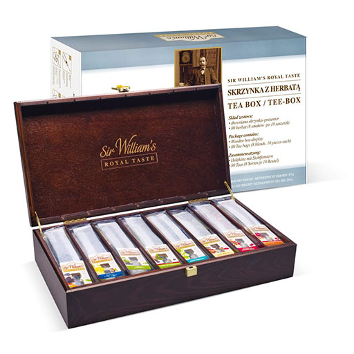 Skrzynka Z Herbatą Sir Williams Royal Taste