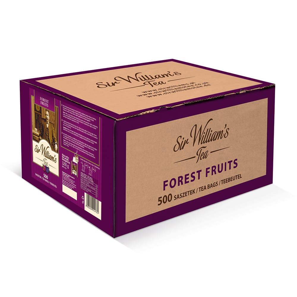 Owocowa Herbata Sir William's Tea Forest Fruits 500 Saszetek